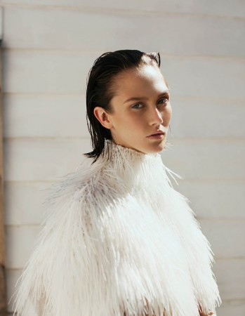 """Caitlin Lomax by Astrid Salomon in """"Pale Days"""" for Fashion Gone Rogue"""