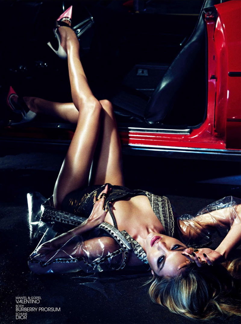 Candice Swanepoel Stuns in Interview Germany June 2013 by Sharif Hamza