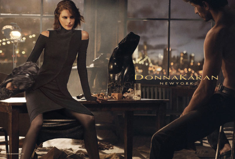 See More Images from Donna Karan's Fall 2013 Campaign with Catherine McNeil