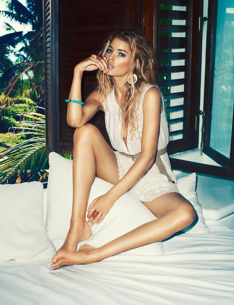 Doutzen Kroes is the Face of H&M's Summer 2013 Campaign by Terry Richardson