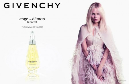 "Natasha Poly Stars in Givenchy ""Ange ou Démon Le Secret"" Fragrance 2013 Campaign"