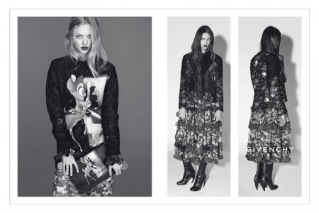 Amanda Seyfried and Dalianah Arekion Tapped for Givenchy Fall 2013 Campaign