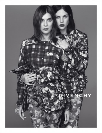See Carine Roitfeld and Julia Restoin Roitfeld in Givenchy's Fall 2013 Campaign