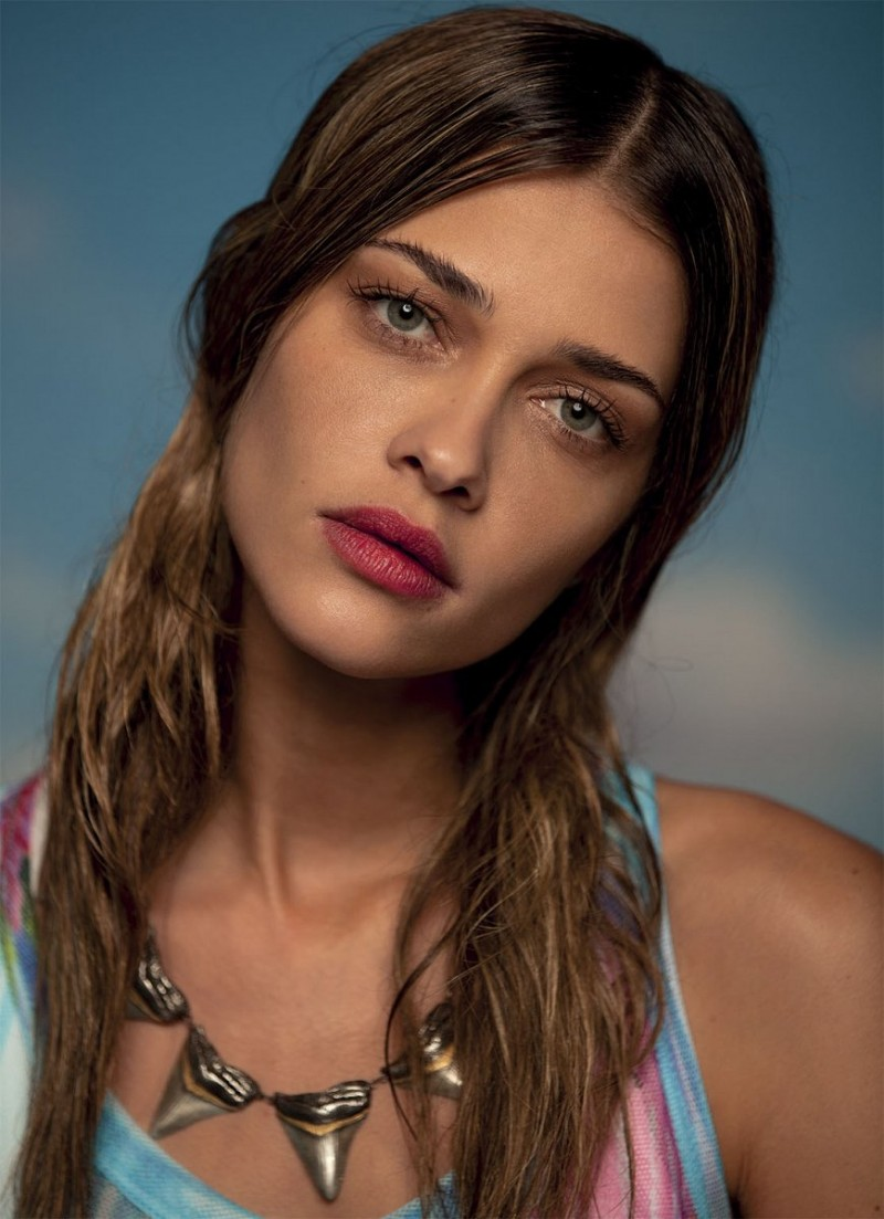 Ana Beatriz Barros Stars in Americana Spread for Grey ...