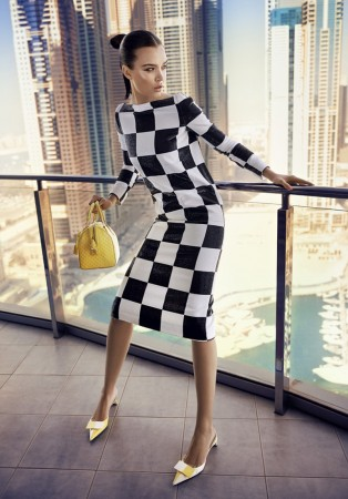 Josephine Skriver Dons Louis Vuitton for Eurowoman by Jonas Bie