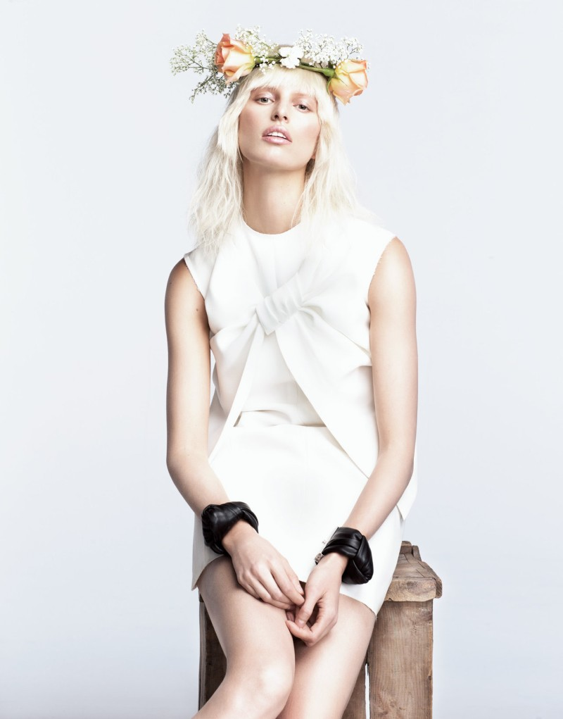 Karolina Kurkova is a Flower Child for Numéro Tokyo June 2013 by Nino Muñoz