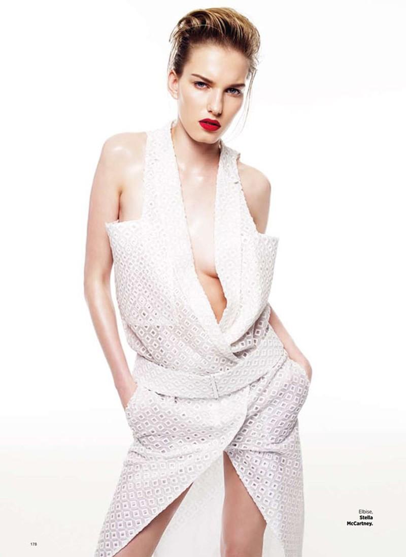 Gianluca Fontana Lenses Marique Schimmel for Harper's Bazaar Turkey June 2013 Cover Story