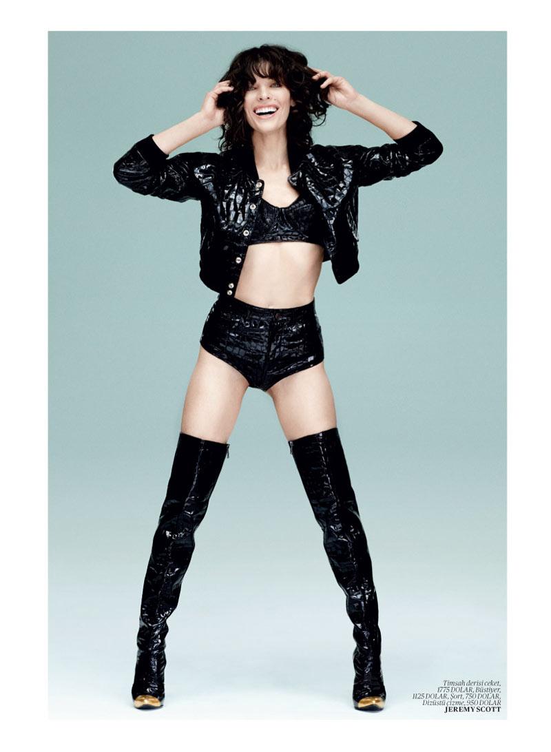 Milla Jovovich Gets Jovial in Vogue Turkey's May 2013 Edition by Sebastian Faena