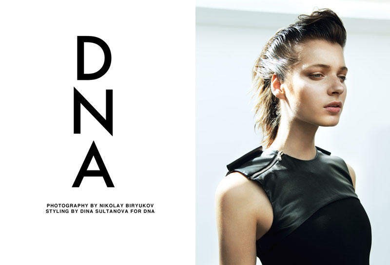 "Vivian Witjes by Nikolay Biryukov in ""DNA"" for Fashion Gone Rogue"