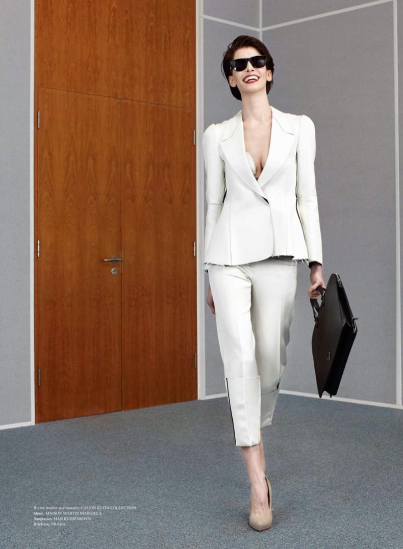 Thomas Lohr Photographs Chic Employee of the Month Kristina Salinovic for Sleek Magazine