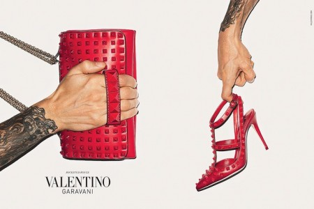 Terry Richardson's Arms Front Valentino Accessories Fall 2013 Campaign