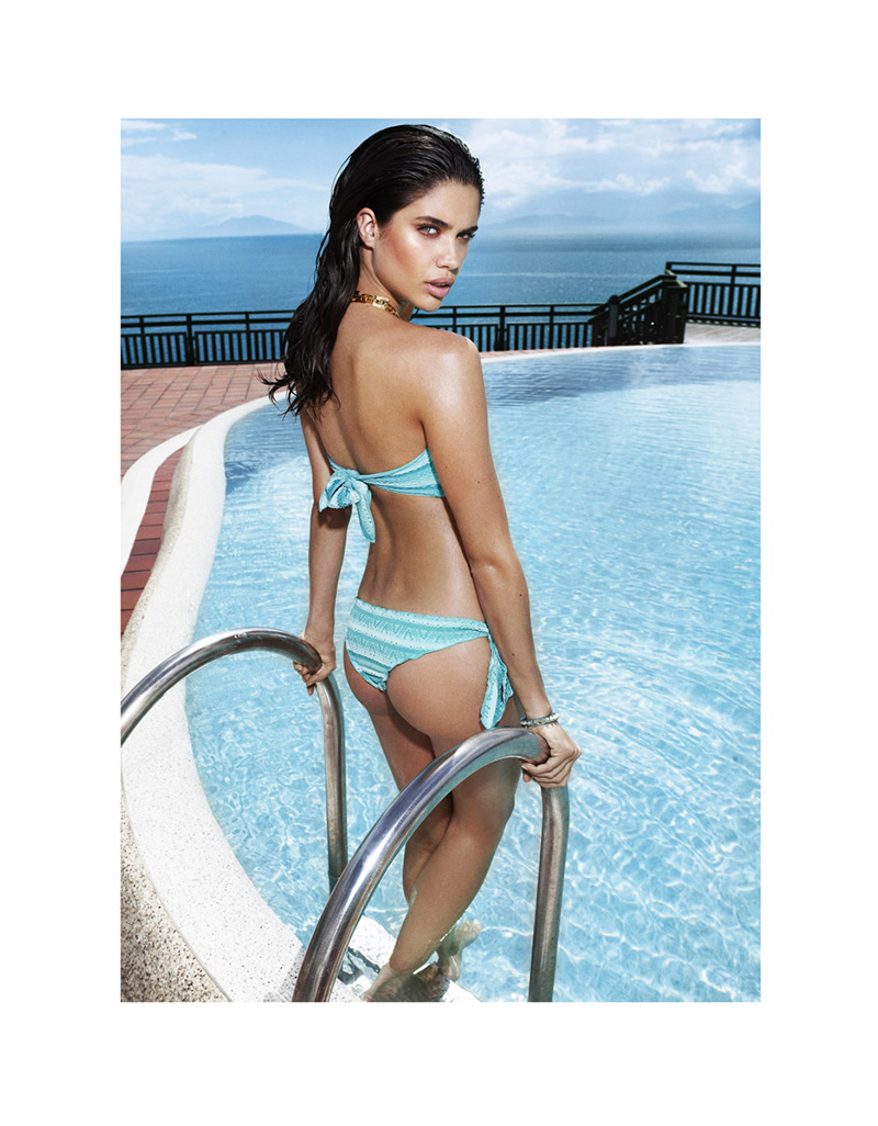 Sara Sampaio Keeps Cool for L'Officiel Turkey June 2013 by Emre Dogru