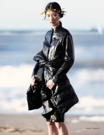 Ji Hye Park Enchants for Vogue Russia July 2013 by Emma Tempest