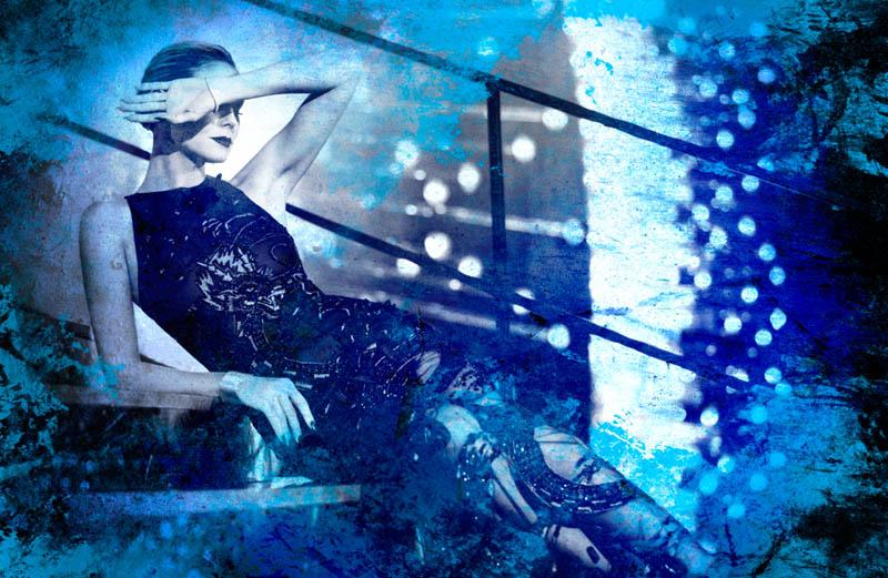 Heidi Klum is Showgirl Glam for Rankin in Hunger Magazine Shoot