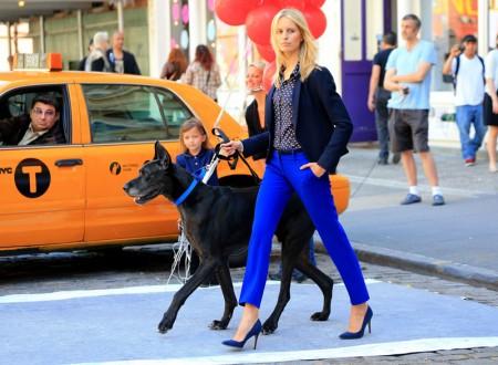 Snap! | Karolina Kurkova Shoots LOFT Campaign in NYC