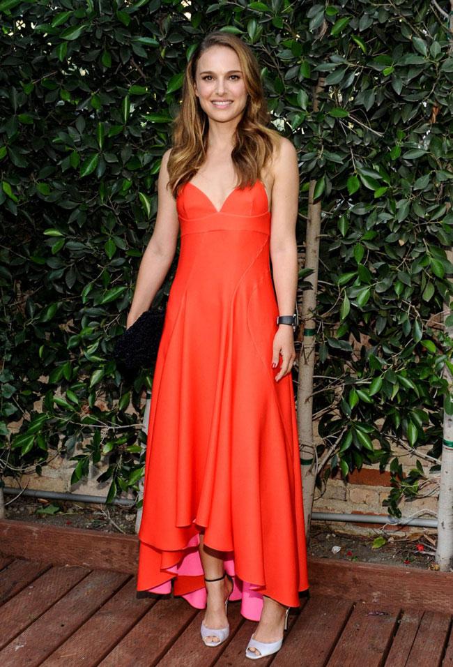 Natalie Portman Wears Dior to LA Dance Project Inaugural Benefit Gala