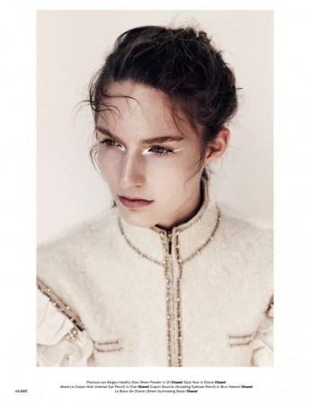 Emma Tempest Snaps Manuela Frey for Exit Magazine S/S 2013