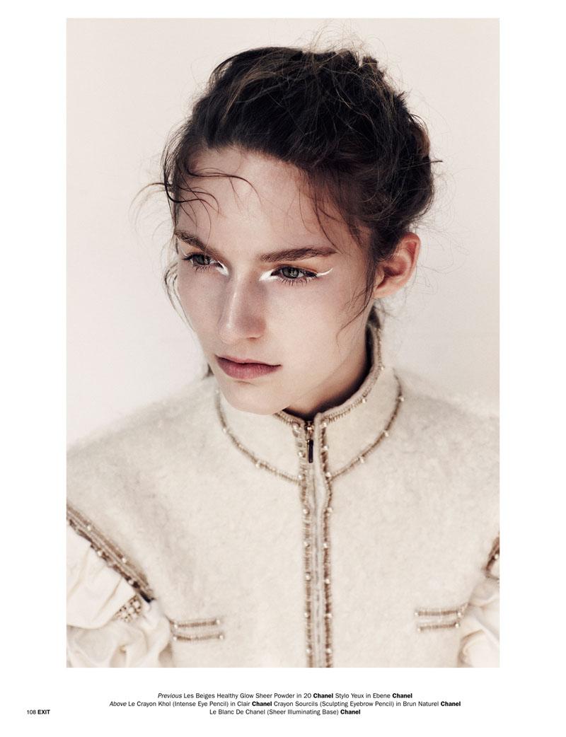 Emma Tempest Snaps Manuela Frey for Exit Magazine S/S 2013 | Fashion Gone Rogue