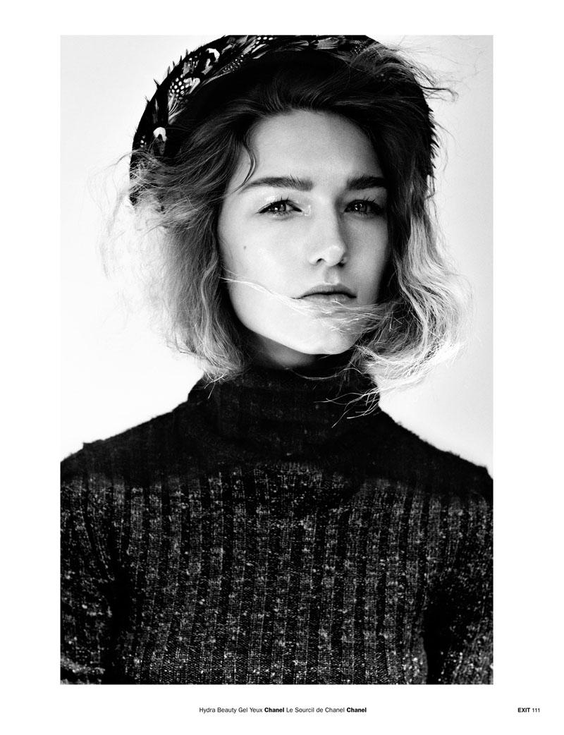 Pg 106 113 Emma Tempest 3b Emma Tempest Snaps Manuela Frey for Exit Magazine S/S 2013
