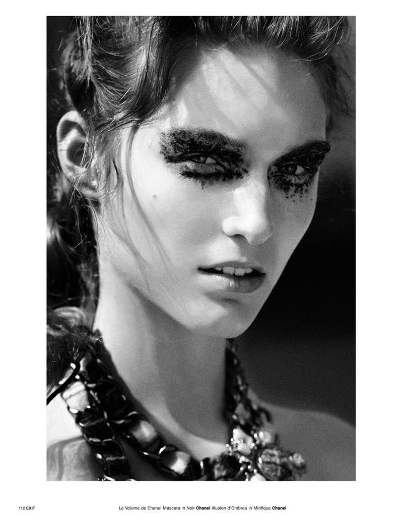 Pg 106 113 Emma Tempest 4 Emma Tempest Snaps Manuela Frey for Exit Magazine S/S 2013