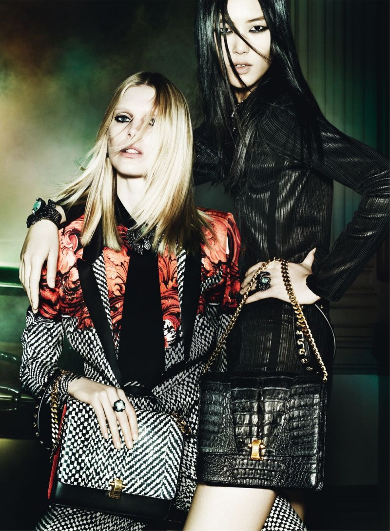 Roberto Cavalli Taps Liu, Liya and Iselin for Fall 2013 Campaign by Mario Testino