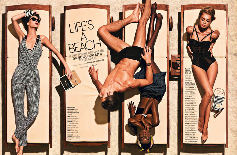 Well Daphne 1 Joel Lim Snaps Retro Summer Spread for Elle Singapore's June Issue