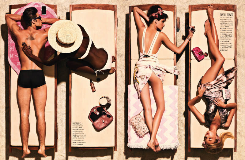 Well Daphne 3 Joel Lim Snaps Retro Summer Spread for Elle Singapore's June Issue