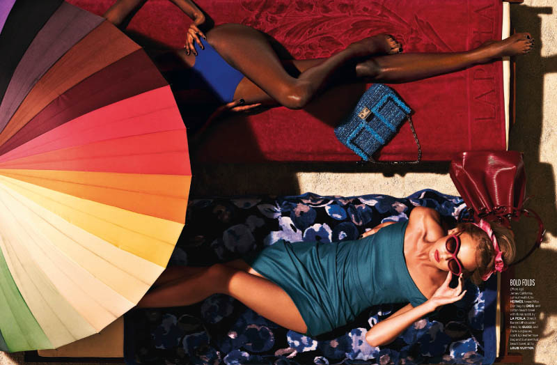 Well Daphne 4 Joel Lim Snaps Retro Summer Spread for Elle Singapore's June Issue