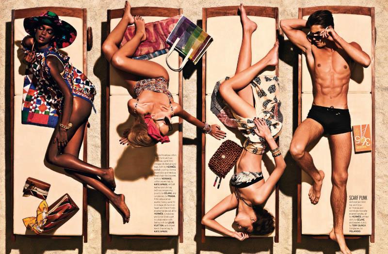 Joel Lim Snaps Retro Summer Spread for Elle Singapore's June Issue