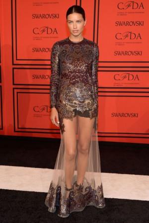 Adriana Lima Wears Givenchy at the 2013 CFDA Fashion Awards