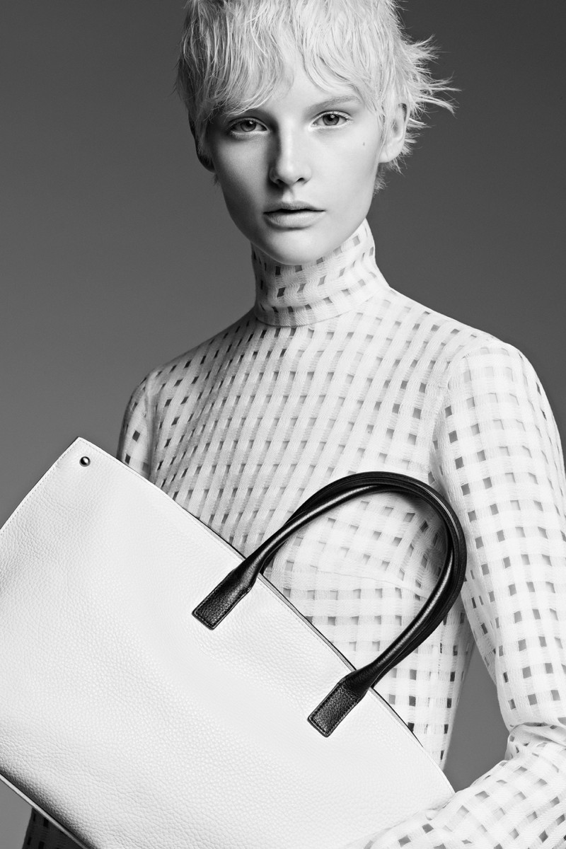 akris fall ad6 Akris Taps Sara Blomqvist for Fall 2013 Campaign by Karim Sadli