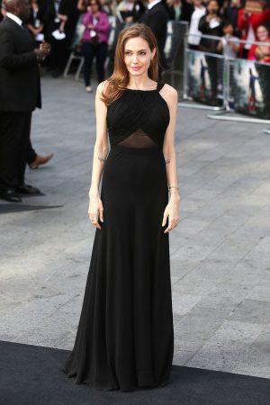 "Angelina Jolie Wears Saint Laurent to the ""World War Z"" London Premiere"