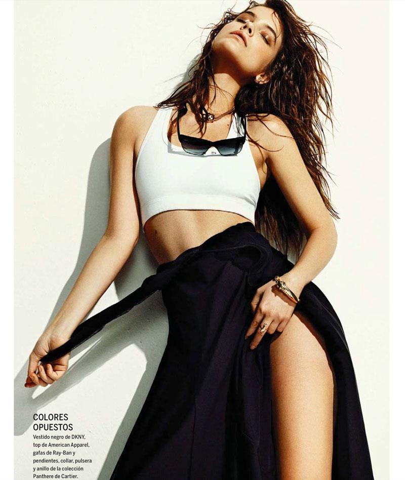 Barbara Palvin Has a Hot Summer for El Pais Semanal's June Issue