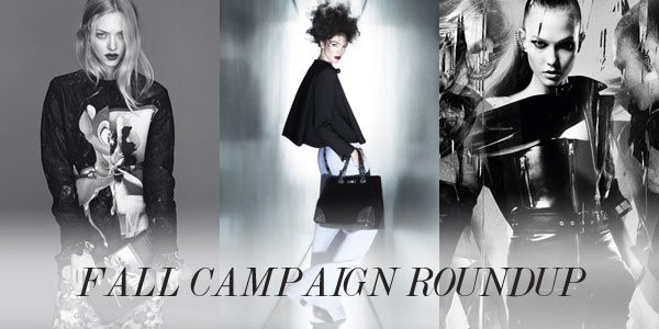 From Saint Laurent to Armani: A Roundup of the Fall Campaigns (So Far)