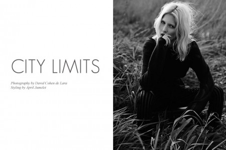 """Eveline Rozing by David Cohen de Lara in """"City Limits"""" for Fashion Gone Rogue"""