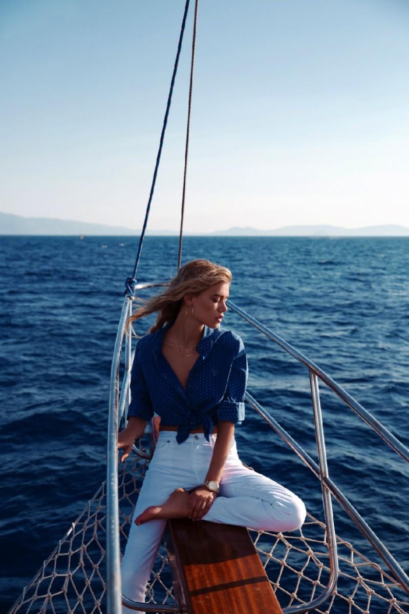 Joanna Halpin Has a Summer Getaway for Cosmopolitan Turkey July 2013