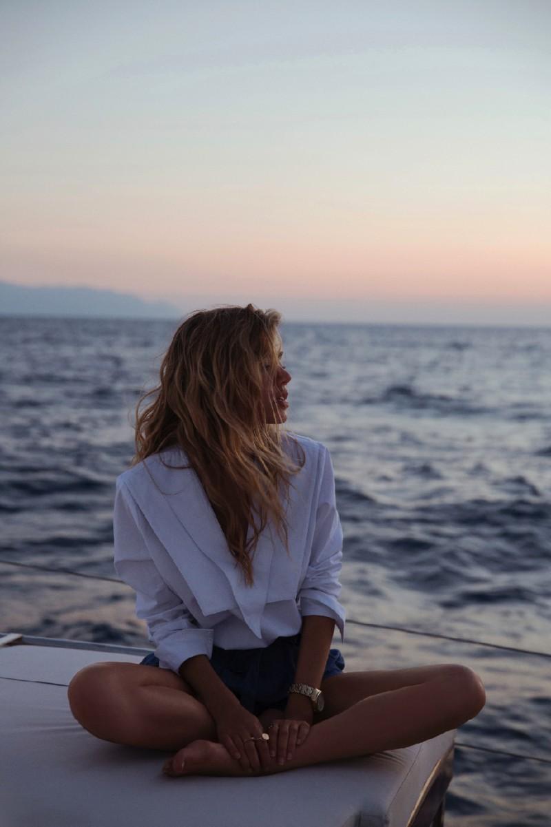 chambray and curls summer dreaming Joanna Halpin