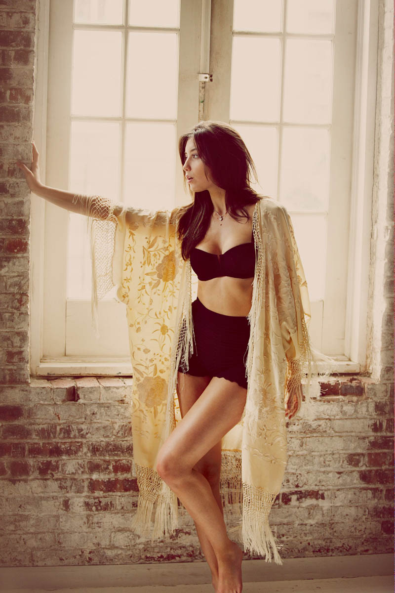 Daisy Lowe Stars in Free People's Intimates Campaign