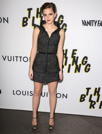 "Emma Watson Dons Chanel at ""The Bling Ring"" Los Angeles Premiere"