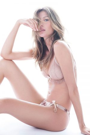 Lingerie Clad Gisele Bundchen Models Her Intimates Collection