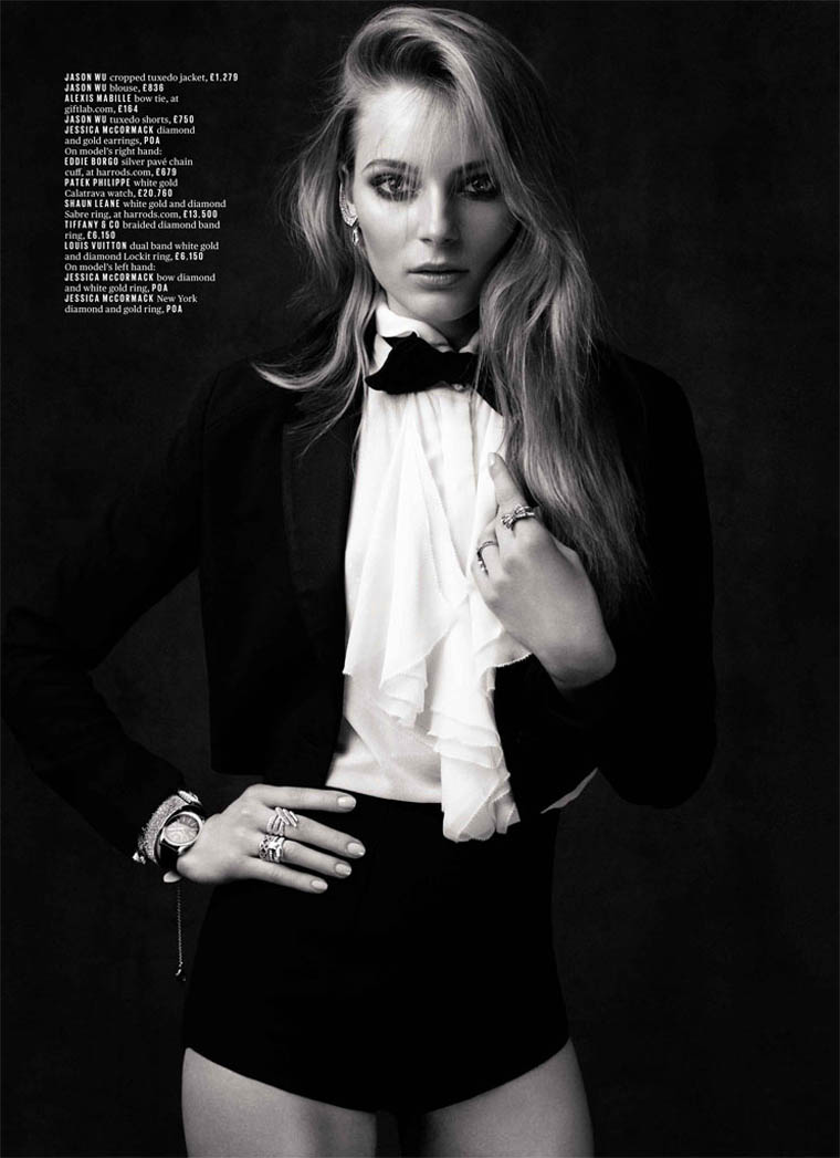 Ieva Laguna Sports Glam Gems for Deluxe Magazine by David Roemer