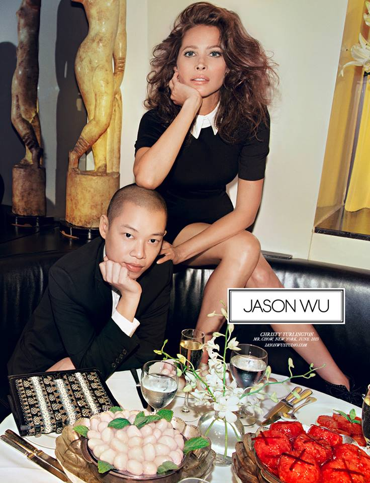 Jason Wu Joins Christy Turlington for Fall 2013 Campaign by Inez & Vinoodh