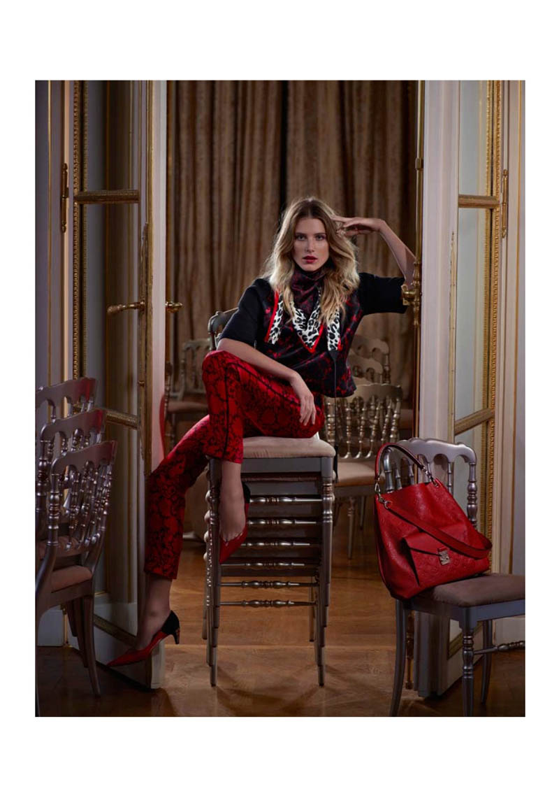 louis vuitton prefall catalogue12 Dree Hemingway Fronts Louis Vuitton Pre Fall 2013 Catalogue by Koto Bolofo