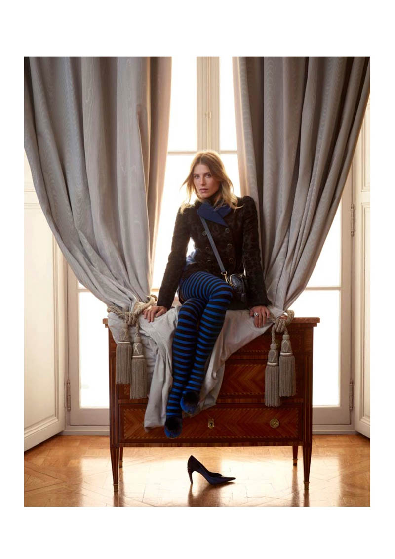 louis vuitton prefall catalogue15 Dree Hemingway Fronts Louis Vuitton Pre Fall 2013 Catalogue by Koto Bolofo