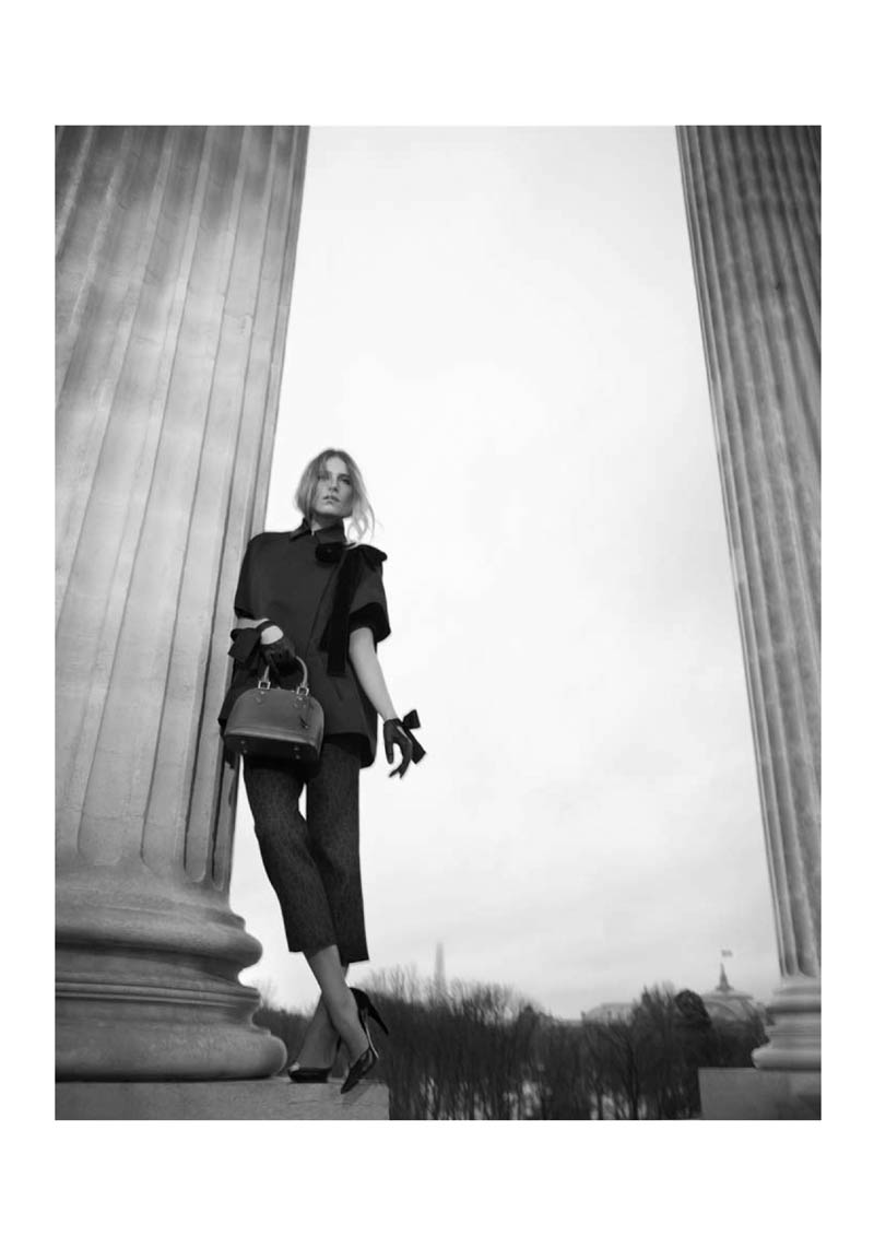 louis vuitton prefall catalogue16 Dree Hemingway Fronts Louis Vuitton Pre Fall 2013 Catalogue by Koto Bolofo