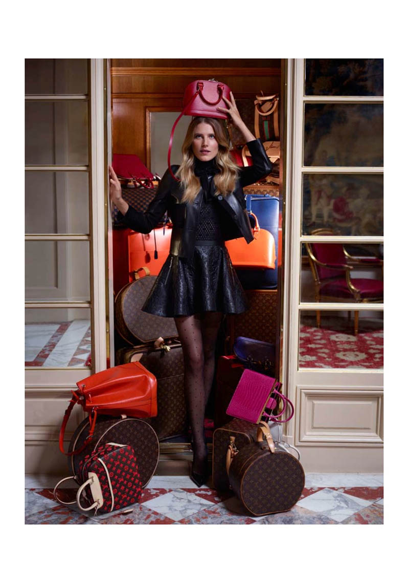 louis vuitton prefall catalogue20 Dree Hemingway Fronts Louis Vuitton Pre Fall 2013 Catalogue by Koto Bolofo