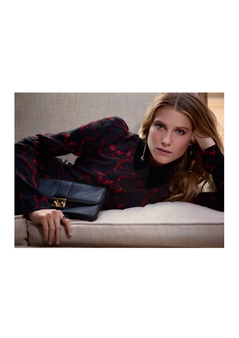 louis vuitton prefall catalogue9 Dree Hemingway Fronts Louis Vuitton Pre Fall 2013 Catalogue by Koto Bolofo