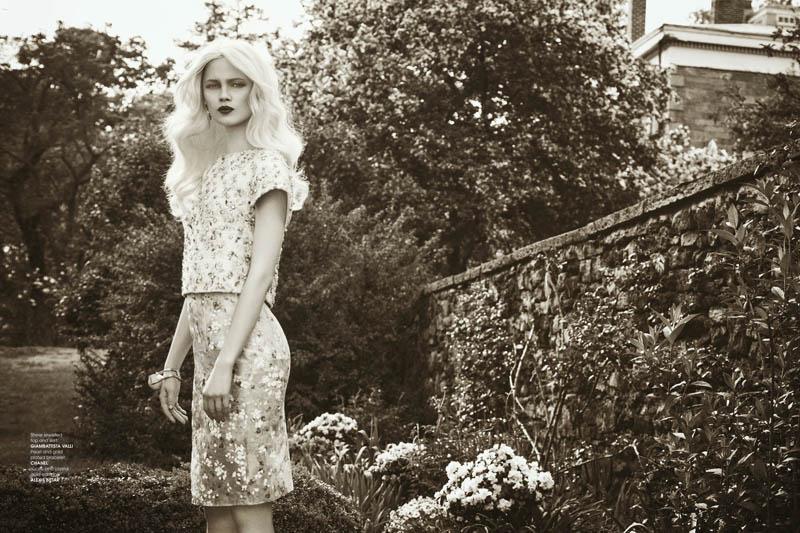 Ranya Mordanova Poses for Luxure Magazine Summer 2013 by Yossi Michaeli
