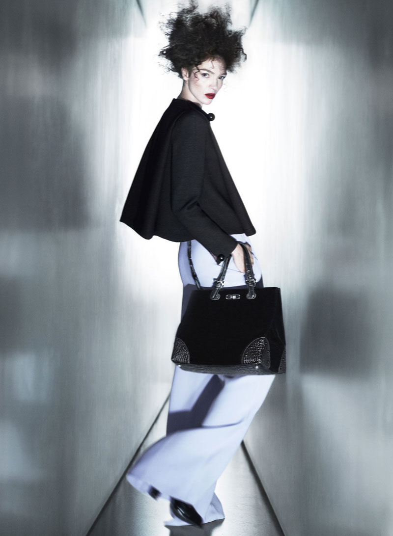 Giorgio Armani Taps Mariacarla Boscono for Fall 2013 Campaign
