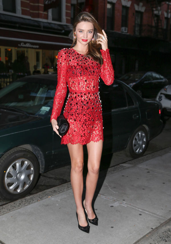 miranda in dolce Sarah Jessica Parker in Marc Jacobs, Miranda Kerr in Dolce and More Looks of the Week
